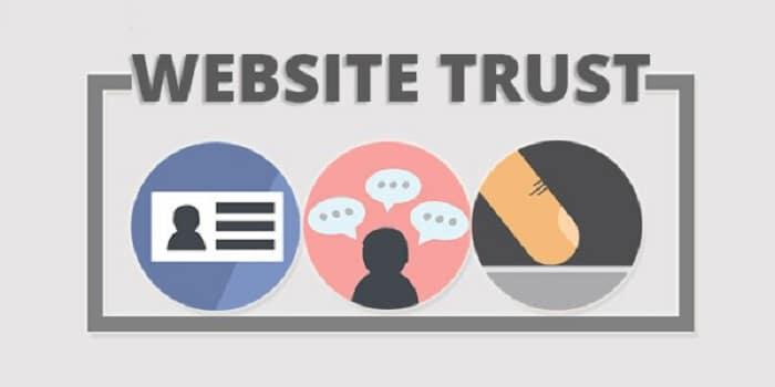 Cách tăng trust website